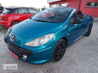 używany Peugeot 307 CC 307 II Cabrio,2.0 benzyna,140KM,elektryczny dach,klima