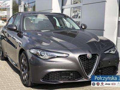 used Alfa Romeo Giulia Super 2.0 200KM AT8 | Szary VESUVIO | Pakiet FLOTA +