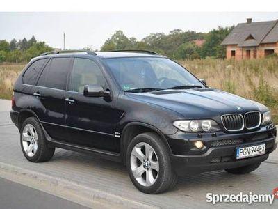 używany BMW X5 I (E53) 3,0 d czarna m pakiet zarejestrowana