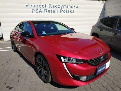 używany Peugeot 508 1.6dm 225KM 2018r. 7 190km