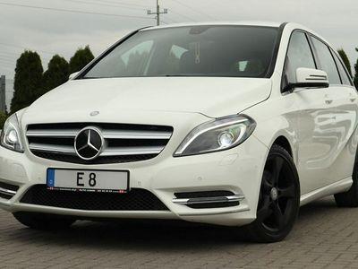 używany Mercedes B200 2dm 136KM 2013r. 81 000km