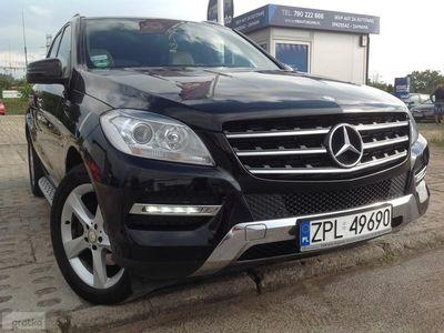 używany Mercedes 350 Klasa ML W166CDI V6 258 KM-4 MATIC-Navi-Skóry-Alu-Led