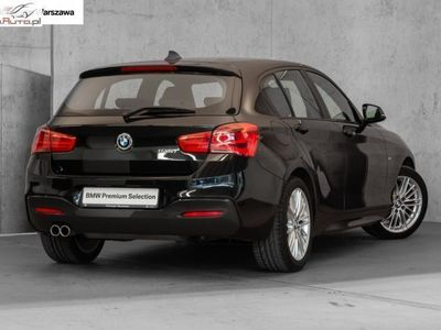 """używany BMW 120 seria 1 2dm3 184KM 2018r. 11 063km i M Sport   LED   Navi   Czujniki parkowania   17"""""""