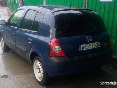 używany Renault Clio II 2006r 1,2 benzyna z klimatyzacją