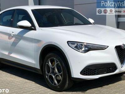 używany Alfa Romeo Stelvio 2dm3 280KM 2019r. 2km Executive 2.0 280KM | Biały ALFA WHITE / Czarna skóra | 2019