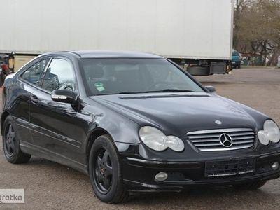 używany Mercedes 200 Klasa C W2031.8 kompresor,Panoramadach.