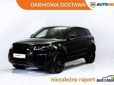 używany Land Rover Range Rover evoque DARMOWA DOSTAWA, Klima auto, Skóra, Tempomat, Serwis ASO