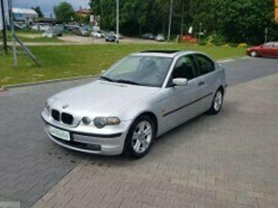 używany BMW 318 Compact 318 e 46 ti 116km,klimatronic,szyberdach,grzane siedzenia E46 (1998-2007)