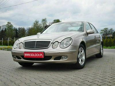 używany Mercedes E200 1.8dm 163KM 2004r. 248 000km