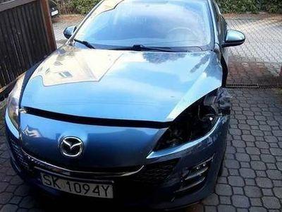 używany Mazda 3 sedan 2.0 2009 BL niski przebieg, uszkodzona