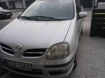 używany Nissan Almera Tino 2005, benzyna, dobrze wyposażony