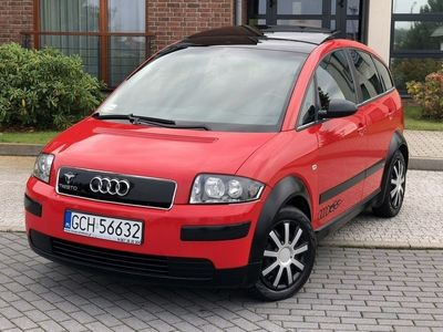 używany Audi A2 1.4dm 75KM 2003r. 170 075km