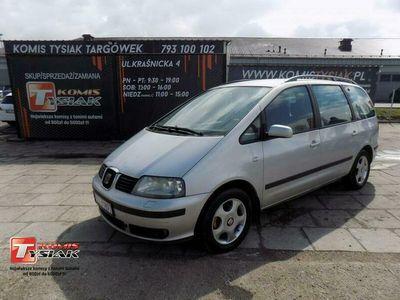używany Seat Alhambra !!!Targówek!!! 1.9 Diesel, 2002 rok produkcji! KOMIS TYSIAK I (1996-2010)