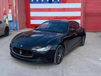 używany Maserati Ghibli GhibliS 3.0l benz. autom. 8-bieg. 2015