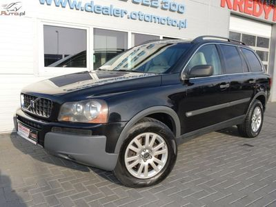 używany Volvo XC90 2.4dm3 185KM 2006r. 279 000km 2.4 D5. 4x4 AWD. Skóra. Opłacony. Gwarancja. Zamiana. 185 kM
