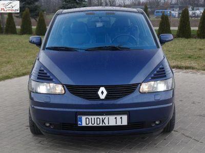 używany Renault Avantime 2dm3 2003r. 234 000km 2,0b turbo DUDKI 11 xenon,półskóry,3 kluczyki,klimatr,temp,alu,GWARANC