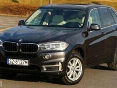 używany BMW X5 F15 25d 231 Panorama ACC Komforty Blis Hak Pamięci DVD