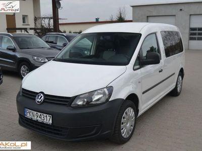 używany VW Caddy 1.6dm3 102KM 2015r. 81 000km 1.6 TDI MAXI VAT 23%