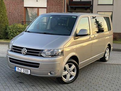 używany VW Multivan Highline 4 Motion 2.0TDI 180KM Navi DVD Webasto Zadbany !!!, Kościerzyna
