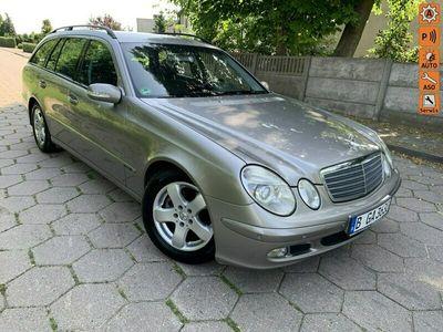 używany Mercedes E220 Klasa E W211 MERCEDESCDI 2,2 CDI 150KM MAŁY PRZEBIEG OPŁACONY !!!