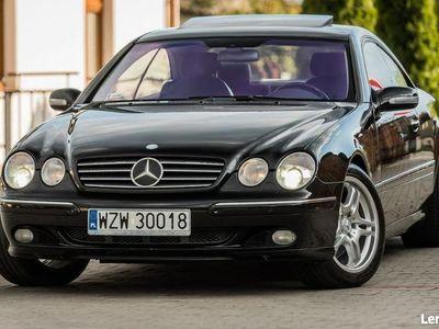 używany Mercedes CL600 5.8dm 367KM 2001r. 180 000km