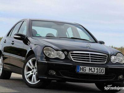 używany Mercedes C200 Kompressor 163KM Elegance Navi Skóry PDC Tempomat Niemcy