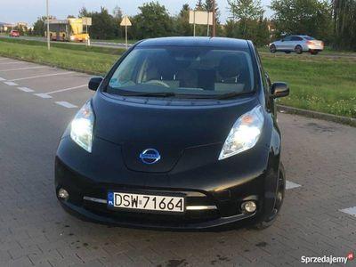 używany Nissan Leaf elektryczny ekonomiczny i wygodny ! LED NAVI