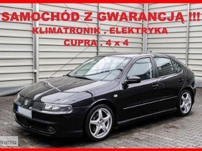 używany Seat Leon I CUPRA + 4x4 + 2,8 V6 + Klimatronik + Elektryka + dla KONESERA !!