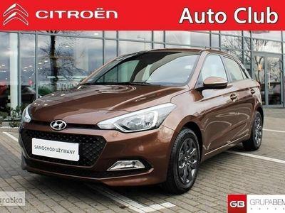 używany Hyundai i20 II 1.2i 84KM Fresh Salon PL Gwarancja Serwis ASO FV 23%, Złotniki