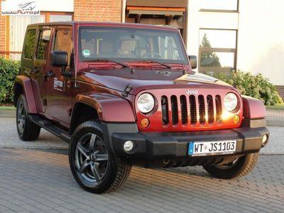 używany Jeep Wrangler 2.8dm3 177KM 2010r. 219 900km Unlimited Sahara 177KM Hard Top Automat Wyjątkowy