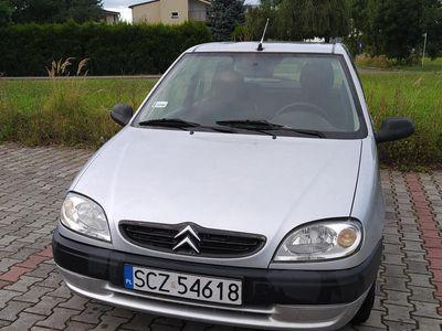 używany Citroën Saxo 1.1, benzyna, 2001 rok, ważne opłaty