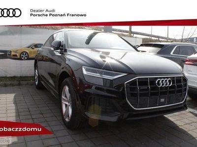 używany Audi Q8 50 TDI quattro 210(286) kW(KM) tiptronic Salon Polska 2019 Hak Wenty
