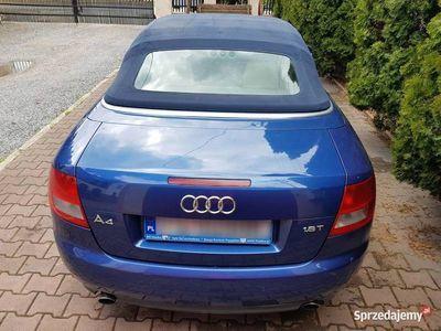 używany Audi A4 Cabriolet B6 1.8t Zamiana