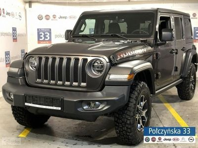 używany Jeep Wrangler III [JK] JL Unlimited Rubicon 2.2 200KM Diesel | Nowy Model - Grafitowy