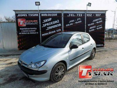 używany Peugeot 206 !! BIAŁOŁĘKA !! 1.1 Benzyna, 2004 rok produkcji !!KOMIS TYSIAK!!