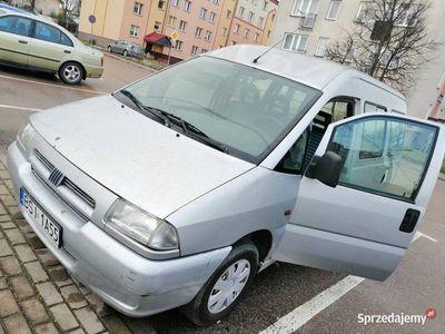używany Fiat Scudo BENZYNA 1.6 DOBRY BUS ZA MAŁE PIENIĄDZE POLECAM