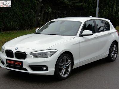 używany BMW 118 2dm3 150KM 2015r. 16 324km 2.0 Diesel 150km Full LED Automat Salon PL Bezwypadek F.VAT23% ZOBACZ