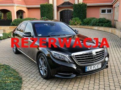 używany Mercedes S350 4Matic. Salon PL. Noktowizor, hak, Webasto, Masaże. Tylko 14 tys km !! W222 (2013-)
