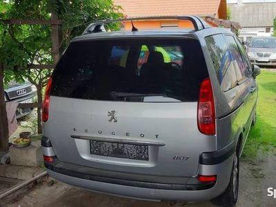 używany Peugeot 807 2,2 hdi rok 2003 przebieg 280 tys km