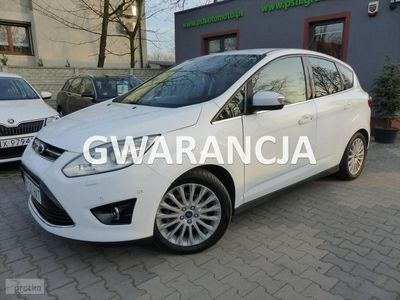 używany Ford C-MAX 2dm3 140KM 2013r. 127 200km 2.0TDCI Titanium Plus Automat Navi Xenon Skóry Gwarancja