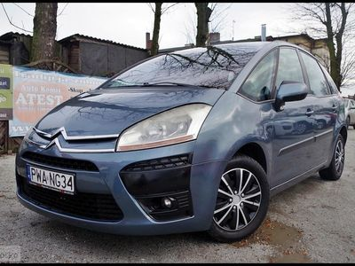 używany Citroën C4 Picasso I 1.6 HDI Klimatronic PDC Tempomat Automat 115km, Wągrowiec