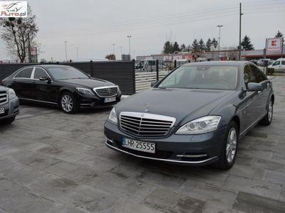 używany Mercedes S350 3dm3 258KM 2011r. 152 000km Blue Efficiency. Bezwypadkowy. Serwis. Gwarancja. Zamiana. Euro-5