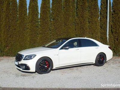 używany Mercedes S63 AMG AMG 4dm 612KM 2018r. 9 200km