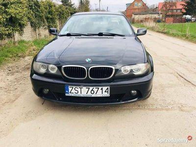 """używany BMW 320 d e46 coupe 2.0 diesel 150km 17"""" alufelgi"""