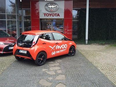 używany Toyota Aygo 1.0 VVT-i X-cite Benzyna, 2014 r.