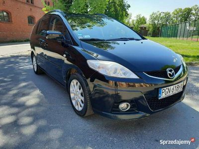 używany Mazda 5 2.0 diesel, 2009r, LIFT, 7 osób, 6 biegów, ZAMIANA
