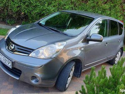 używany Nissan Note 1.5 DCI wygodny,oszczędny i dobrze wyposażony..