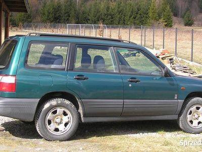 używany Subaru Forester SF 2001 manual benzyna 4x4