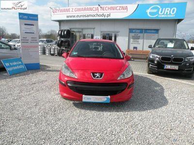 używany Peugeot 201 207 1.4dm3 90KM 2007r.000km F-Marża,Gwar,El.szyby,LPG