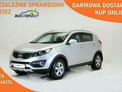 używany Kia Sportage III DARMOWA DOSTAWA, 4x4, Xenon, Navi, Automat, Serwis ASO